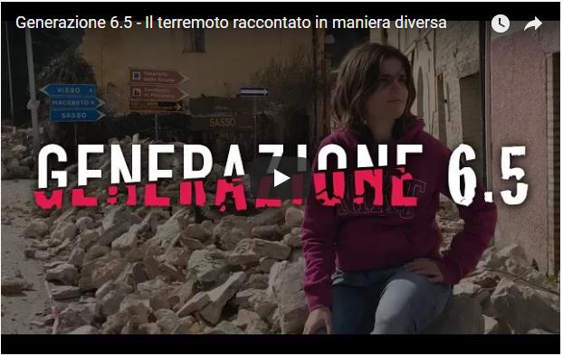 """""""Generazione 6.5"""" – Il terremoto raccontato in maniera diversa"""
