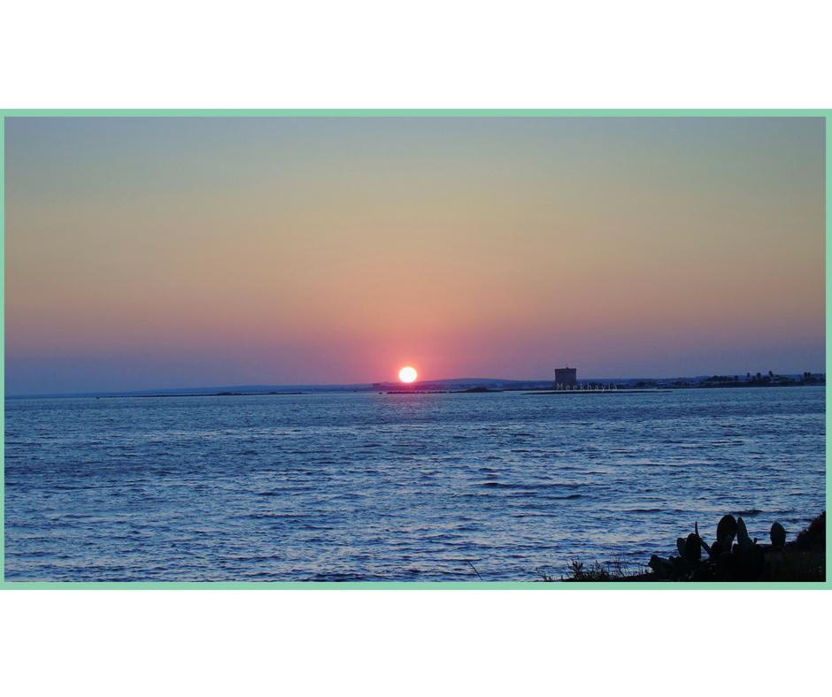 Porto Cesareo tramonto