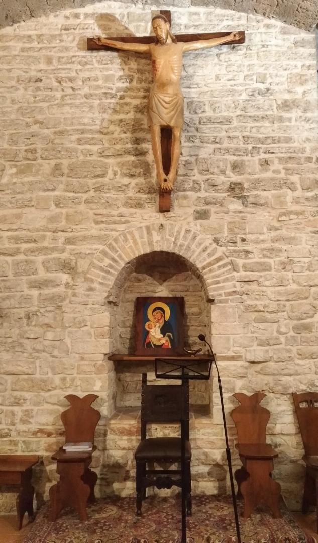 Eremo di San Silvestro in Montefano (Fabriano) - Oratorio