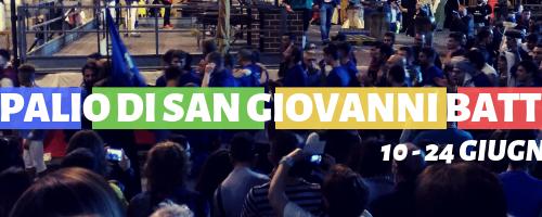 XXV Palio di San Giovanni Battista // Fabriano, 10 – 24 Giugno 2019