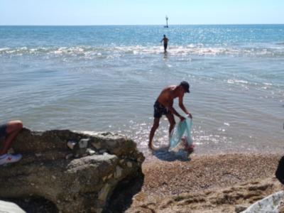 Porto Recanati PhotoWalk - Pesca col serraglio