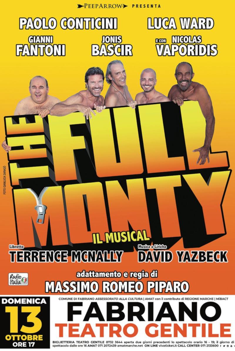 The Full Monty in scena a Fabriano il 13 Ottobre 2019