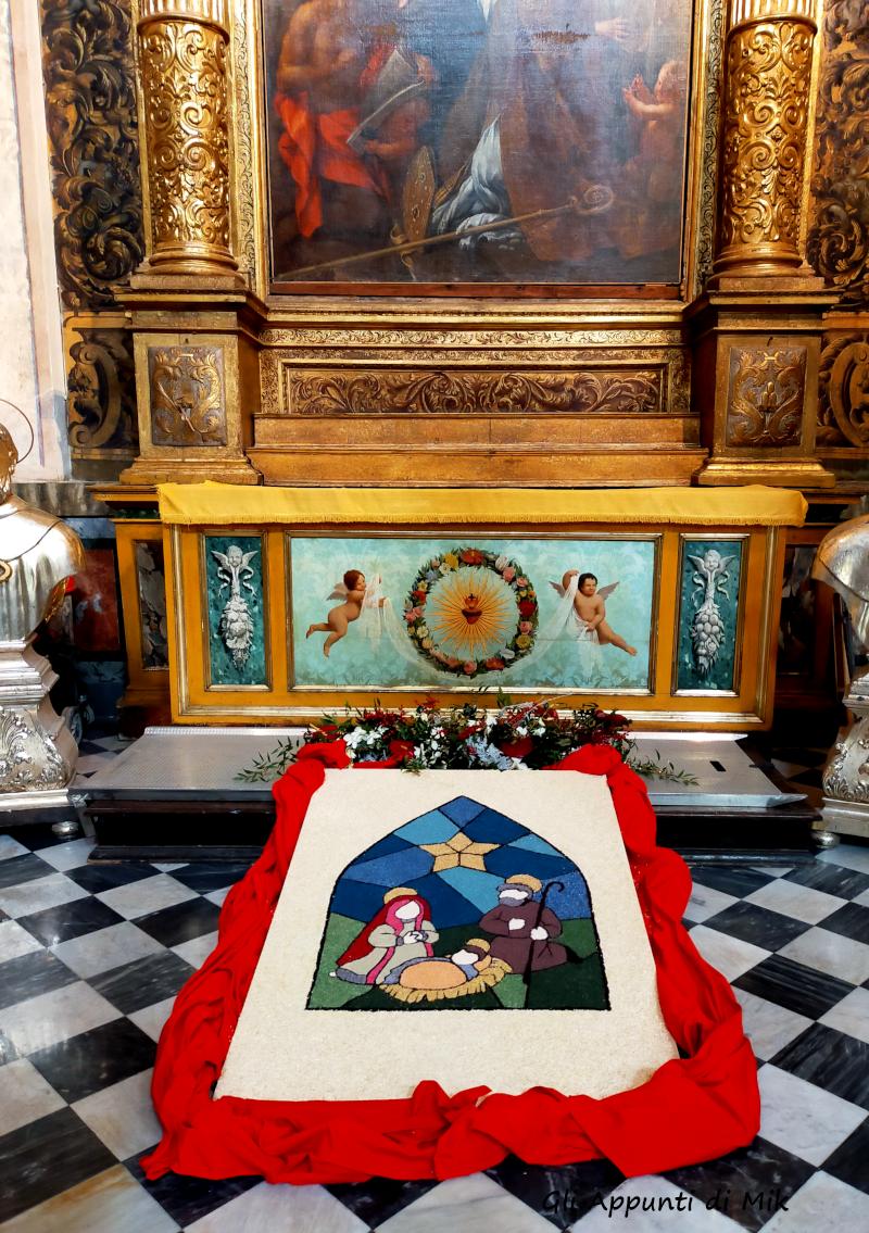 """""""The Annunciation"""": l'Infiorata Artistica per il Natale 2019 di Fabriano"""