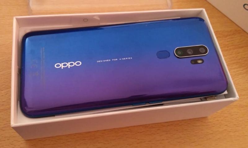 Oppo A9 2020 - Retro con fotocamere