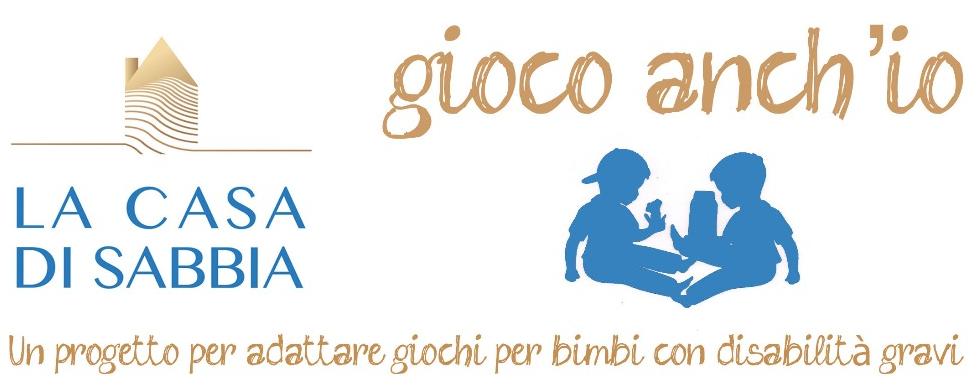 Gioco Anch'io / La Casa di Sabbia - Logo