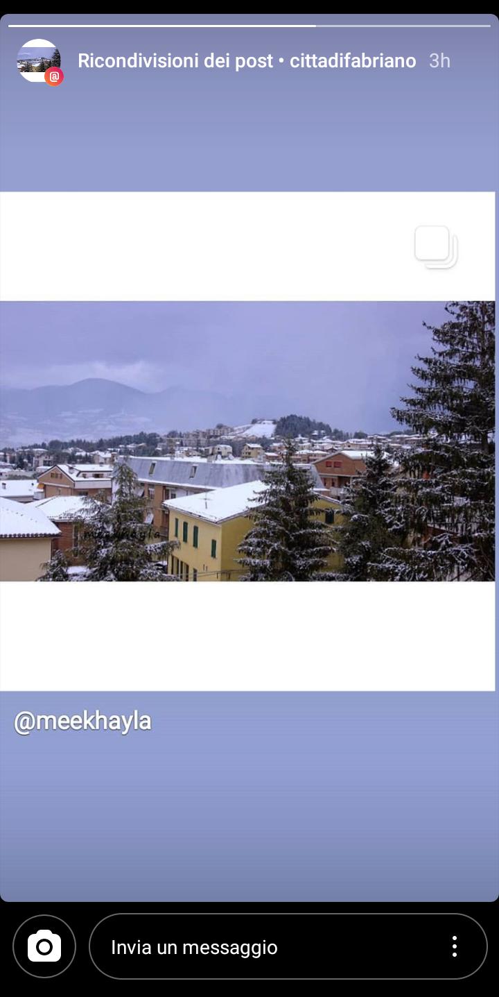 Nevicata di Marzo
