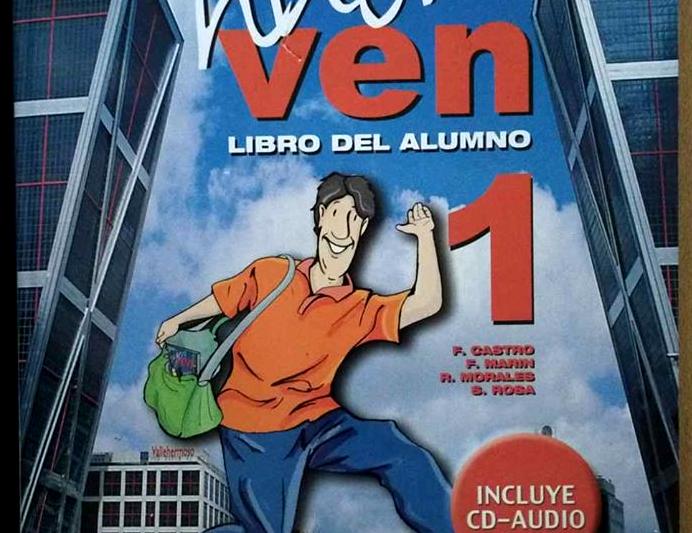 [VENDO] Nuevo Ven 1 | Libro del Alumno – Corso di Spagnolo per Italiani